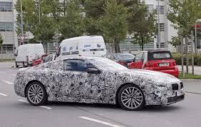 spyshots 2018 bmw 8 series reveals production lights autoevolution