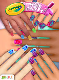 crayola nail party nail salon android apps on google play