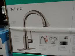 Water Ridge Brushed Nickel Pullout Kitchen Faucet by Waterridge Pull Out Kitchen Faucet Costco Weekender For Costco