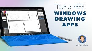 testing 5 free windows drawing apps youtube