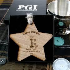 personalised 1st birthday keepsake wooden gift unique 1st