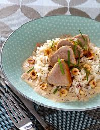 cuisiner le riz basmati recette mignon de porc moutarde noisettes et riz basmati recette