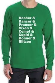 Meme Name List - raindeer name list long sleeve t shirt rudolph santa meme funny