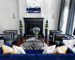 Decorating With Blue Charming Ideas Blue Sofa Living Room Gorgeous 21 Different Style