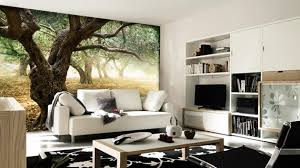 living room mural 15 living rooms with interesting mural wallpapers home design lover