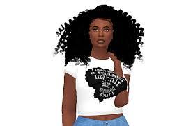 the sims 4 natural curly hair sims 4 natural hair tumblr