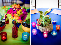 dia de los muertos wedding table centerpieces poptastic