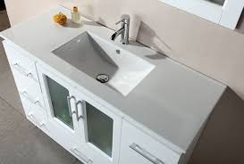 Modern White Bathroom Vanity Bathroom White Bathroom Vanities With Tops And Single Sink And