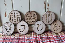 wood burned ornaments giveaway and tips