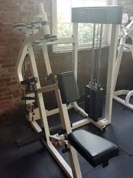 Nautilus Bench Press Machine Used Commercial Exercise Equipment For Sale