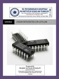 linear integrated circuit lab manual by prabhu pdf operational