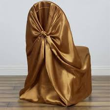 gold chair covers universal satin chair cover decor gold efavormart
