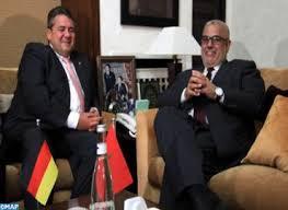 chambre de commerce allemande le vice chancelier de la république fédérale d allemagne ministre
