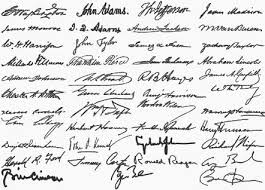 donald trump official signature trump takes a tediously long time