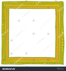 doodle presentations handdrawn doodle vector frame photos portraits stock vector