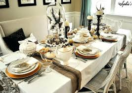 modern table settings dining room table place setting ideas awesome modern table settings
