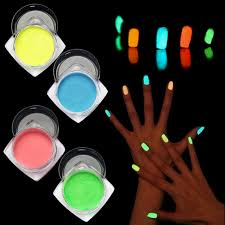 online shop high quality night light fluorescent luminous nail