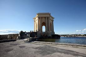 bureau d ude m anique lyon montpellier le jardin du peyrou chateau d eau du xviiie construit