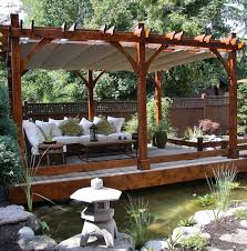 White Vinyl Pergola Kits by Garden Oasis Pergola Most Recommended Design Black Lacquered
