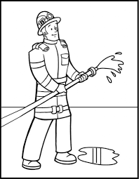 stunning firefighter coloring book ideas u2013 printable coloring