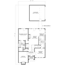 Breeze House Floor Plan European Style House Plan 3 Beds 2 50 Baths 2135 Sq Ft Plan 17 640
