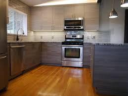 Two Tone Kitchen by Bellevue Modern 2 Tone Kitchen Remodel