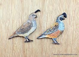 diy ornaments salt dough quail scissors and spoons