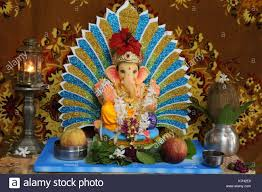 home decoration of ganesh festival murti stock photos u0026 murti stock images alamy