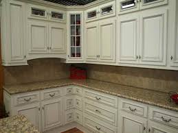 Kitchen Cabinets Refinishing Ideas Kitchen Fascinating Paint Antique White Cabinets Painted White