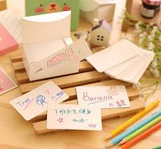 free ship 1lot 6box 600pc 100 box white paper card message