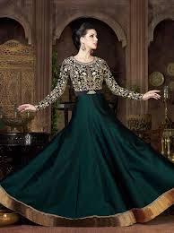 green anarkali salwar suits buying online green pakistani anarkali