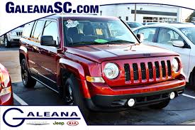 red jeep patriot certified used 2015 jeep patriot altitude in columbia sc galeana