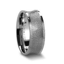 fingerprint wedding band fingerprint wedding bands larson jewelers