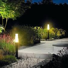 Bollard Landscape Lighting Garden Outdoor Lighting Lighting Idea With Bollard Ls Near