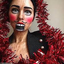 looking for makeup artist makeup artist transforms into creepy creations inspired