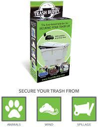 amazon com trash buddy dog proof trash can lid the easy