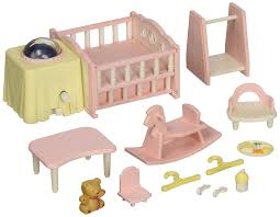 amazon com calico critters nightlight nursery set toys u0026 games