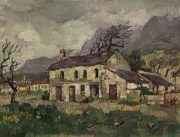 Landscape With Houses by Gregoire Boonzaier Paintings Artist Investment Art Art