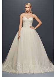 truly zac posen corset wedding ball gown david u0027s bridal