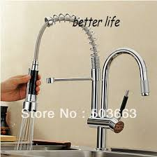 pullout kitchen faucets spouts chrome kitchen sink mixer tap pull out kitchen