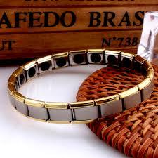 germanium power bracelet images Stainless steel germanium bracelet bio magnetic therapy health jpg