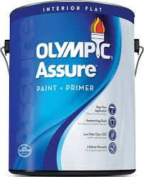 Interior Flat Paint Interior Paint Olympic Assure