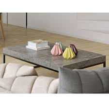 petra rectangular modern coffee table eurway