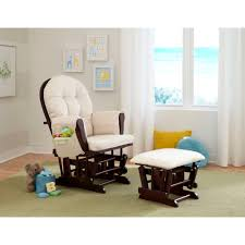 Rocking Chair Cushion Sets Furnitures Astounding Shermag Glider Rocker For Comfy Home