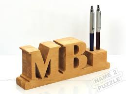 wooden personalized gifts personalized pen holder handmade from a of solid wood