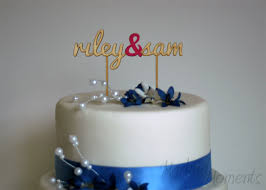 personalized cake topper custom wedding cake topper personalized