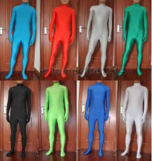 halloween full body suit halloween party lycra spandex zentai costume skin bodysuit