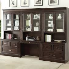 parker house stanford wall unit with lateral files and built in