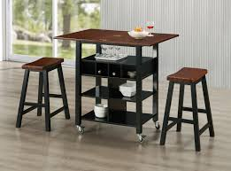 phoenix kitchen island and 2 stools walmart com