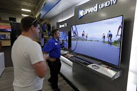 best buy 55 inch tv black friday big screen tvs give way to supersize screen tvs sfgate